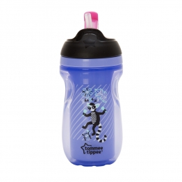 INSULATED STRAW CUP PURPLE