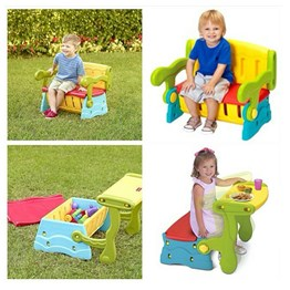 Sit N Munch Storage Bench